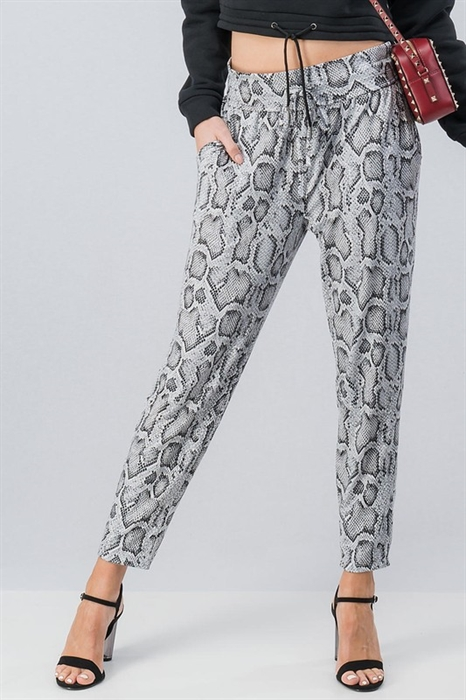 Picture of Snakeskin Joggers