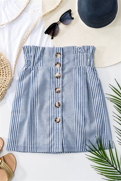 Picture of Button Down Mini Skirt