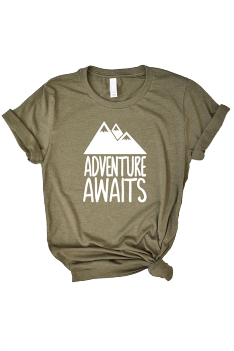 Picture of Adventure Awaits Graphic Tee