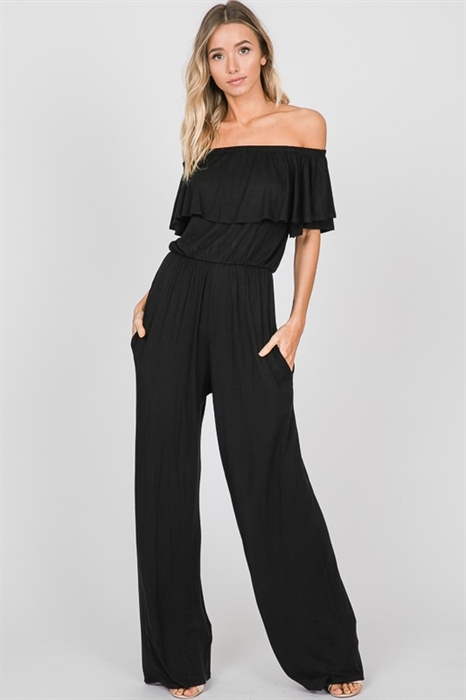Picture of Ruffled Pocket Jumpsuit