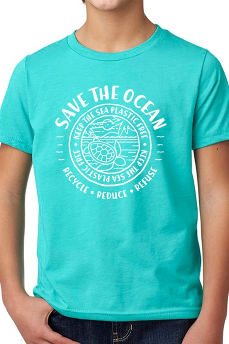 Picture of Youth Save The Ocean Graphic Tee