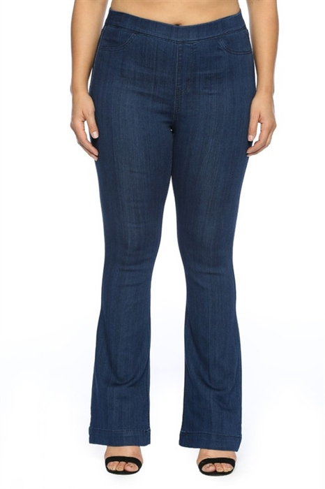 Picture of Curvy BootCut Jeggings