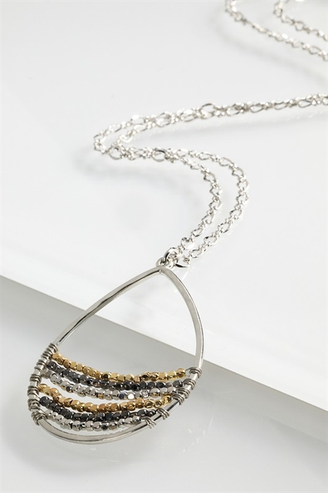 Picture of Helena Wire Wrap Necklace