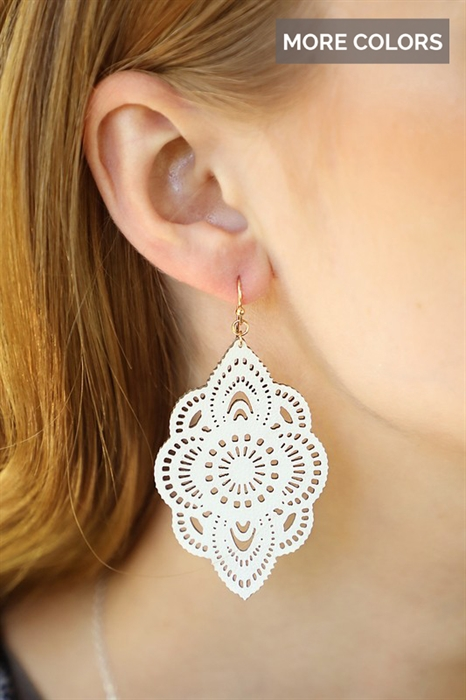 Picture of Abbi Laser Cut Earrings